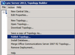 6. Toploogy Builder - Publish Topology
